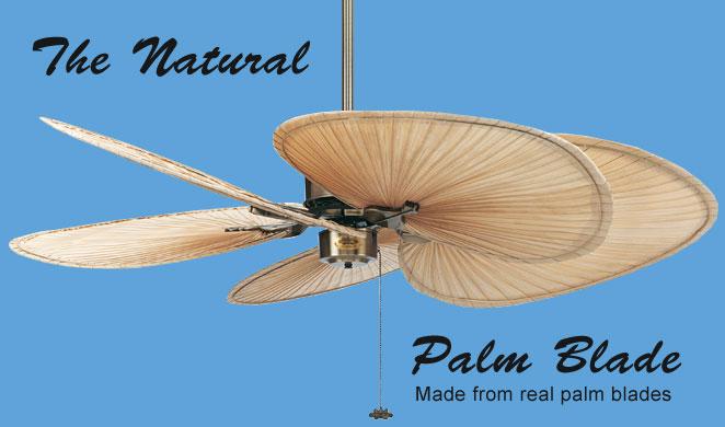 palm leaf ceiling fans palm tree leaf